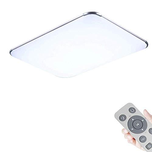 WYBAN LED 64W Dimmbar Deckenleuchte Deckenlampe Wohnzimmer bad Küche Panel Leuchte (64W Dimmbar+FB)