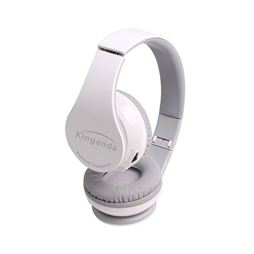 Wireless-Sound-Folding klar Faltbare Bluetooth 4.0 Kopfhörer-Headset - Weiß