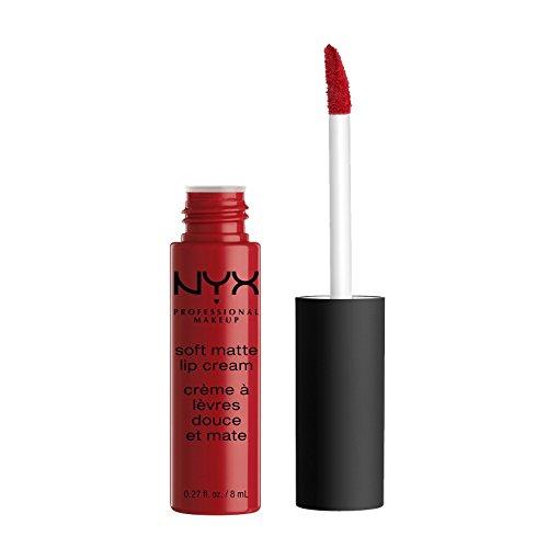 NYX Soft Matte Lip Cream, Amsterdam, 1er Pack (1 x 8 ml) (Nyx Matte Lipstick-creme)