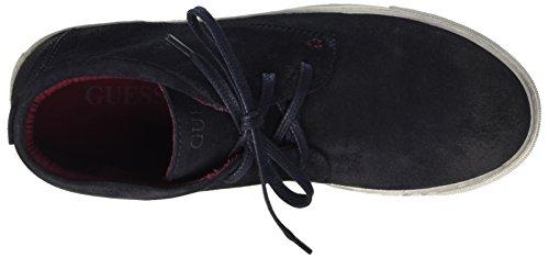 Guess Cole, Chaussures de Gymnastique Homme Bleu (Navy)