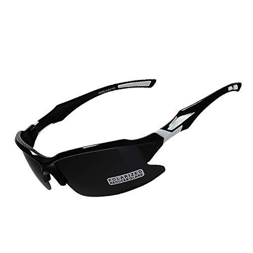 AmDxD TR90 Golfbrillen Sonnenbrille Motorradbrillen Radsportbrille Sandkontrolle Schutzbrillen für Motorrad Fahrrad Helmkompatible, Schwarz - Gabbana Leopard