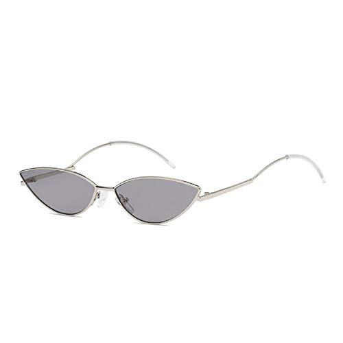YLNJYJ Modemarke Cat Eye Sonnenbrille Frauen Rot Gelb Klare Linse Sonnenbrille Rosa Brillen Spiegel Shades Für Damen Lunette