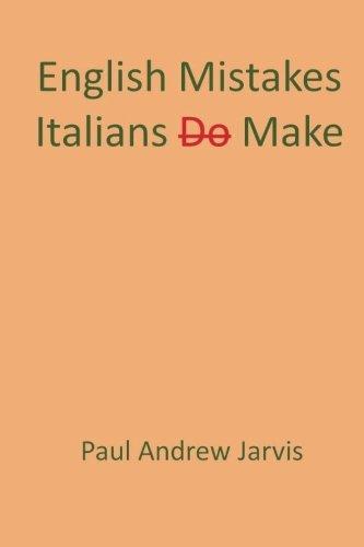 English Mistakes Italians Make