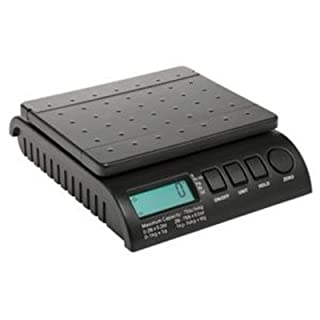 ABCON 101375 5/ 10g Postship Multi-Purpose Scale Increments with 34Kg Capacity - Black by ABCON