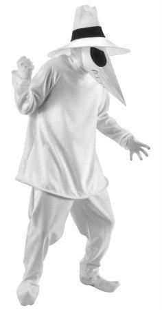 ißes Kostüm für Erwachsene (Spy Vs Spy Kostüm)