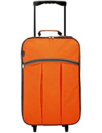 "Maleta cabina plegable especial ""low cost"" (4248 Naranja)"