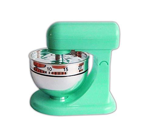 KURZZEITMESSER Mixer Eieruhr bis 60 min. Küchentimer Wecker Küchenuhr Timer Stoppuhr 3 Farben 6 (Grün)