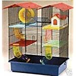 Walter Harrison's Westminster Hamster Cage Multi-Level Sturdy Spacious Playpen with Hideaway House, Wheel, Tubes and… 2