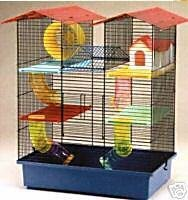 Walter Harrison's Westminster Hamster Cage Multi-Level Sturdy Spacious Playpen with Hideaway House, Wheel, Tubes and… 1