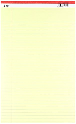 Mead Produkte MEA59612 Norm Legal Pad 8 .50 X 14