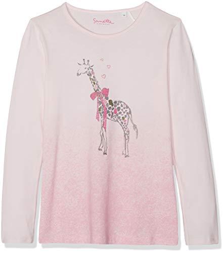 Sanetta Mädchen Langarmshirt Shirt Rosa (Shadow Rose 37052) 92 - Shadow Langarm-shirt