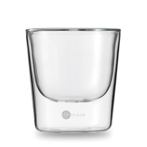 Jenaer Gobelet en verre 2 unités, Verre, transparent, 17.2 x 8.6 x 9.2 cm