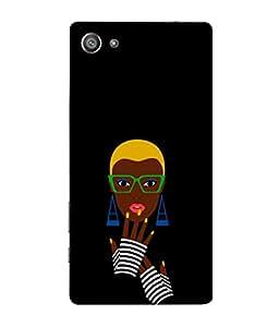 PrintVisa Artistic Image 3D Hard Polycarbonate Designer Back Case Cover for Sony Xperia Z5 Compact :: Sony Xperia Z5 Mini