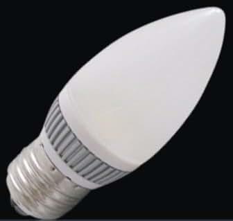 E27 LED ES Candle Bulb 4w, Warm White