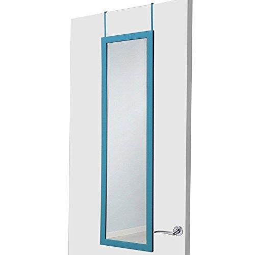 Espejo-para-puerta-turquesa-sin-agujeros-37×128-cm