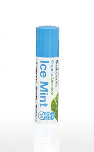 Balsamo labbra Aloe & Ice Mint di Dr. Organic