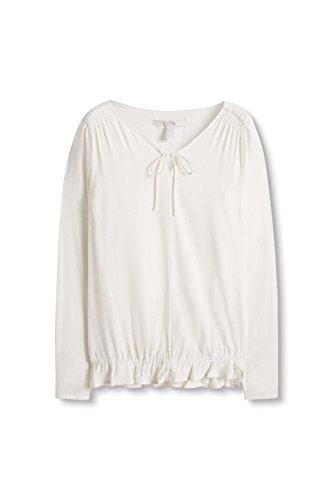 ESPRIT Damen Bluse Elfenbein (off White 110)