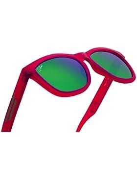 Gafas de sol Polarizadas 2018 Para Hombre Mujer 100% UV Protección Goma Moda