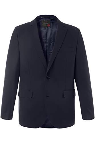 JP 1880 Herren große Größen bis 72, Anzug-Jacke, Baukasten-Sakko Zeus, FLEXNAMIC®, Schnurwoll-Qualität schwarz 32 705513 10-32