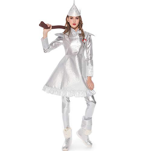 Tin Man Damen Kostüm - Halloween Kostüme Damen Tin Man Performance
