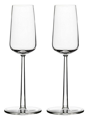 Iittala 004314SET Essence Champagneglas 21 cl, 2-er Set