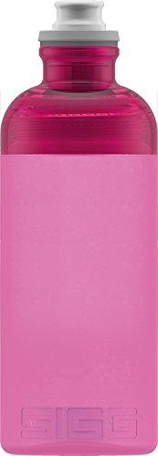 Sigg Hero Berry, Sport Trinkflasche, 0.5 L, Squeezable, Polypropylen, BPA frei, Rosa