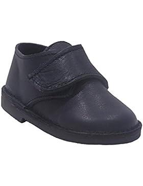 [Patrocinado]800FP - Zapato velcro colegial azul marino