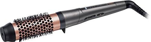 Remington CB8338 Volumenstyler Keratin Protect, 38 mm breite Rundbürste, grau/rose gold