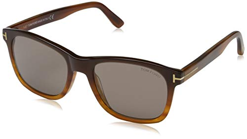 Tom Ford Herren FT0595 50E 55 Sonnenbrille, Braun,