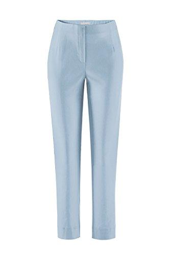Stehmann INA-740, bequeme, stretchige Damenhose-Farbe: dustyblue, Gr. 42