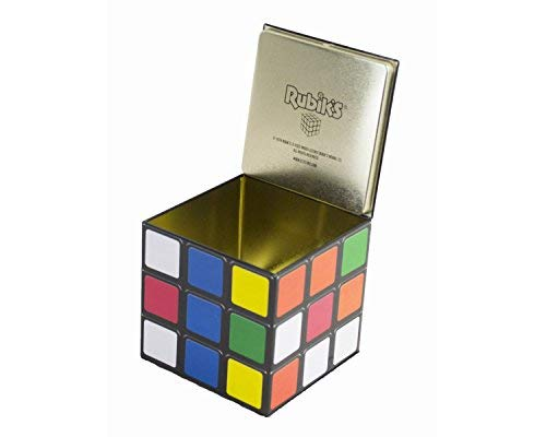 Official Rubik's Cube Storage Tin.