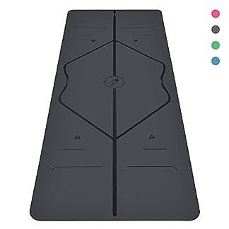 Liforme Esterilla Yoga Antideslizante – Mejor Colchoneta De Yoga del Mundo con Sistema De Alineación Original y Patentado – Yoga Mat Ecológica y Respetuosa con El Medio Ambiente