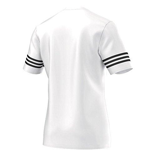 Futebol Adidas Homens Camisa 14 Branca Preta Entrada Calças fEwwxTHFqz