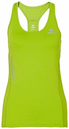 erima Damen Shirt Running Singlet Lemon Green/Peacock, 40