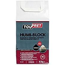 Toupret LSHUMIB06 Humi-Block Enduit en Poudre 6 kg, Blanc