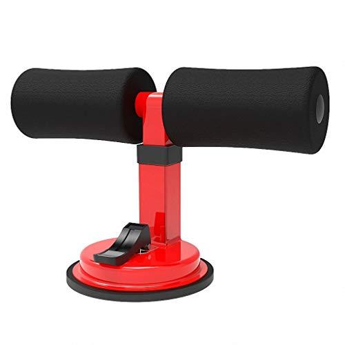 MZXI Saugnapf-Sit-Up-Hilfe 3-Gang-Verstellbare hochelastische Schaumstofftrainings-Liegestütze Yoga-Action-Home-Orange