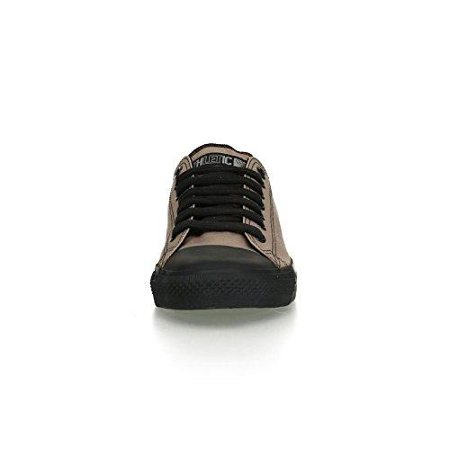 Ethletic Black Cap vegan LoCut - Farbe moon rock grey / black aus Bio-Baumwolle Größe 43 - 6