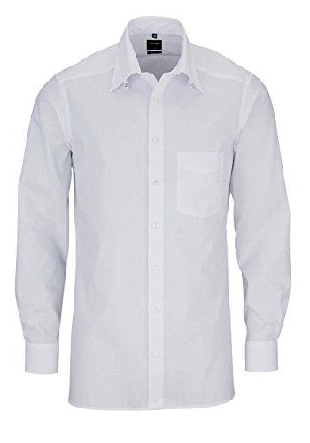 Olymp Herren Hemd Modern Fit Luxor Tabkragen weiß 0309 64 00 Weiß