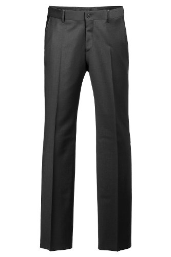 ESPRIT Collection Herren Anzughose Regular Fit Schwarz (Black)