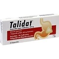 Talidat® Kaupastillen gegen Sodbrennen Spar-Ste 3x20St. Arzneimittel zum Binden überschüssiger Magensäure (Antazidum). preisvergleich bei billige-tabletten.eu