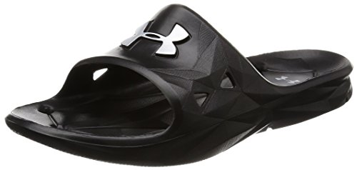 Under Armour Herren UA M Locker III SL Dusch-& Badeschuhe - Schwarz (Black 001) - 40 EU (Sandalen Von Under Armour)