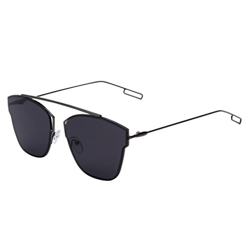 Sunglasses Spectacles, Hot Clearance Sale Manadlian Summer Sunglasses Metal Reflection Mirror Frame From Lens Sunglasses Glasses