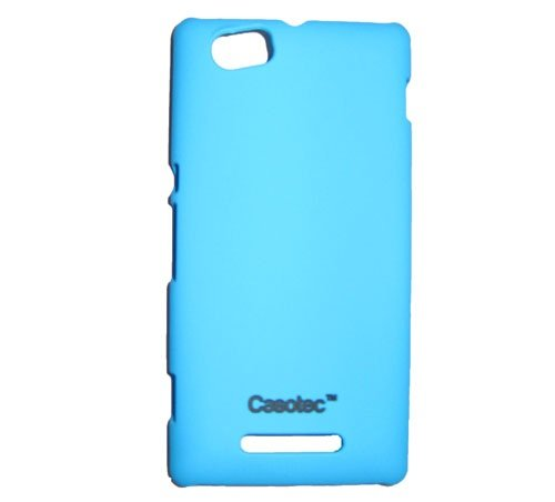 Casotec Ultra Slim Hard Shell Back Case Cover w/ Screen Protector for Sony Xperia M - Ocean Blue  available at amazon for Rs.175
