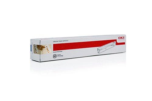 Oki Original 43459371 / C3520, für C 3530 n MFP Premium Drucker-Kartusche, Cyan, 2500 Seiten