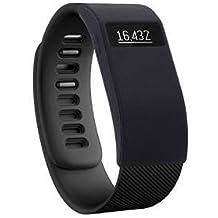 Greatfine Funda para Fitbit Charge / Fitbit Charge HR Carcasa De Gama Alta Silicona y Policarbonato (Black)