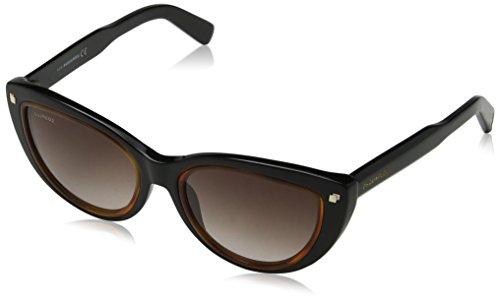 Dsquared2 eye, occhiali da sole donna, marrone, 53