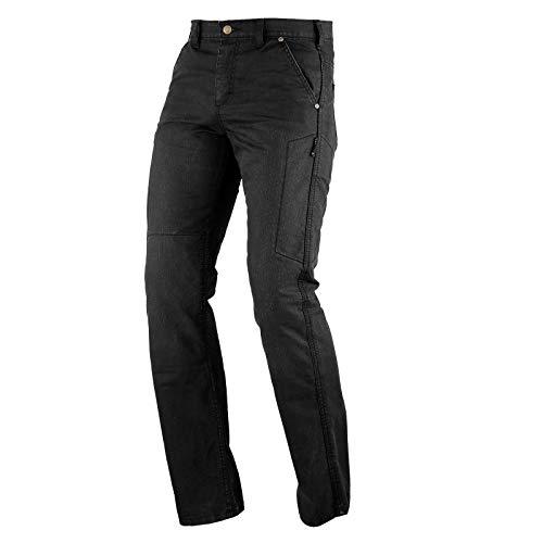 A-Pro Ladies jeans Cotton comfortable Trouser Reinforced Kevlar CE Armoured Black 34 preisvergleich