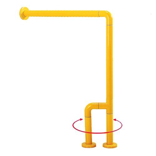 Xing Hua home Feldbetten & Hängematten Anti-Rutsch-Handlauf Für Badezimmer Geländer Für Behinderte Behindertengriff WC-Dusche Älterer Sicherheitsgriff Traglast 150kg (Color : Yellow)