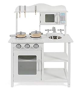 Bayer Chic 2000 301 20 - Cocina de Juguete con Accesorios, Color Blanco