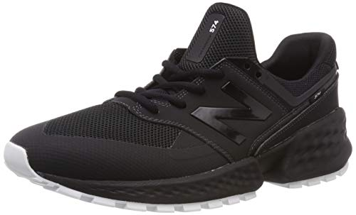 New Balance 574S v2, Zapatillas para Hombre, Negro Black Ktb, 45.5 EU